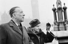 Jorge Luis Borges y Leonor Acevedo Suarez, 1963. Fotografía: Getty.