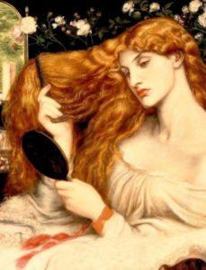 Lady Lilith por Dante Gabriel