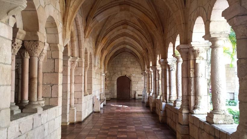 Los claustros de St. Bernard de Clairvaux Miami como se ven hoy en día.