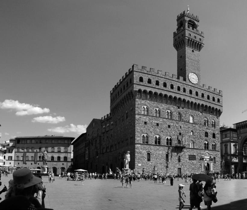 Piazza della Signoria. Fotografía Zolli CC