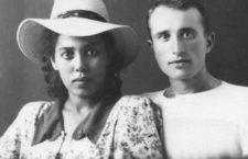 Nutsa Abash y su marido, Semyom Bobylev (Archivo de la familia Abash).