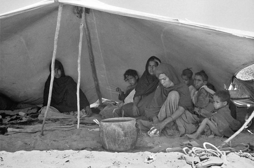 familia nativa en Jachba Hamada