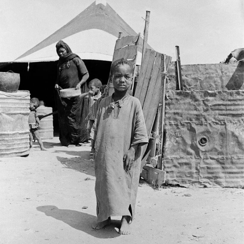 guallete esclavo negro en el frig de Mahbes