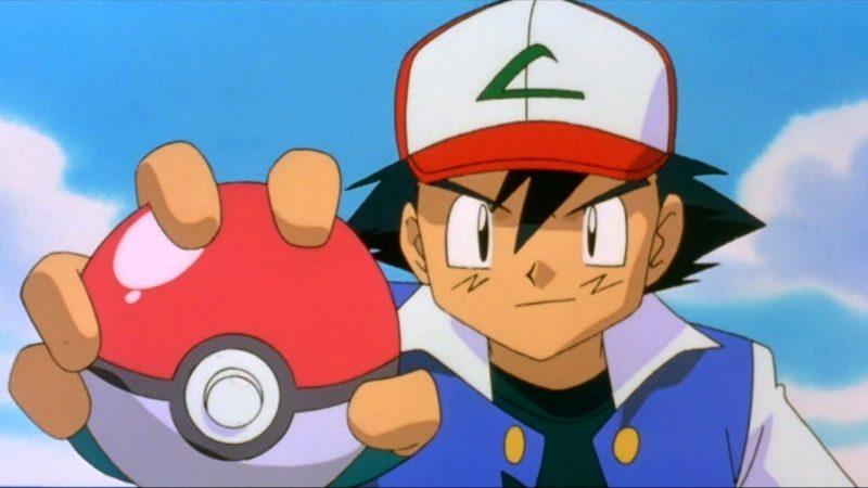 pokemon ash pokeball