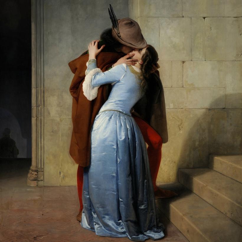 El beso de Francesco Hayez.