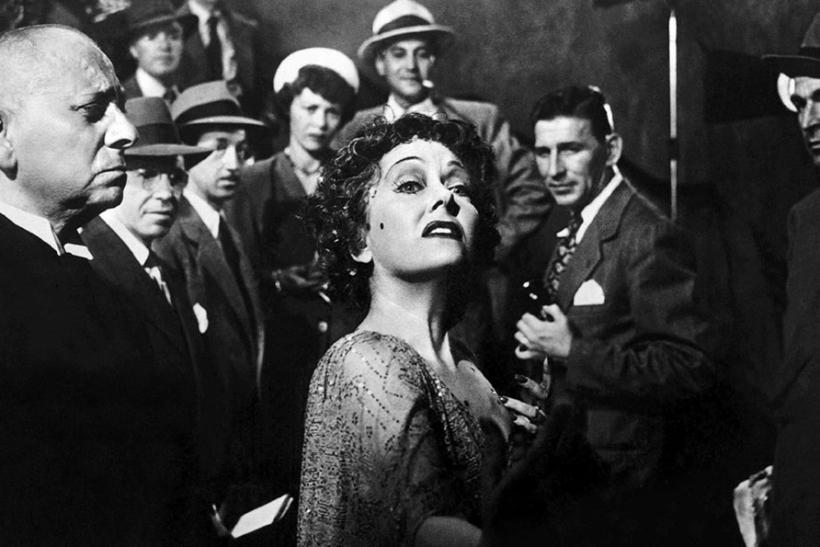Erich von Stroheim Gloria Swanson in Sunset Blvd