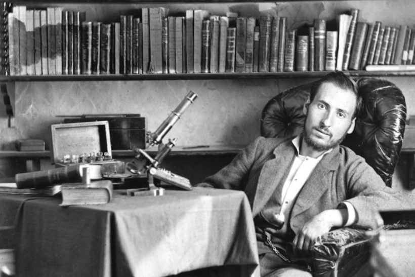 Santiago Ramón y Cajal estudiante de medicina en Zaragoza 1876