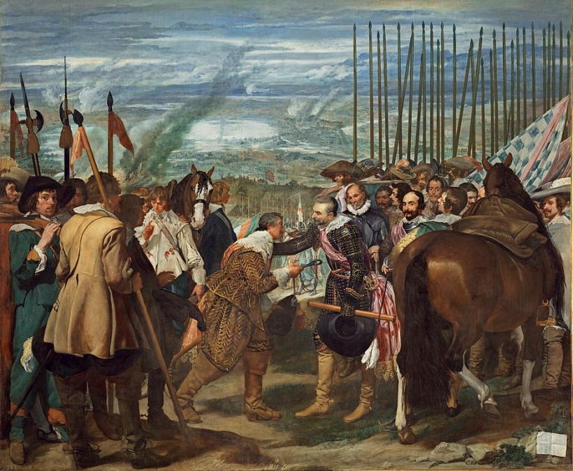 Velázquez de Breda o Las Lanzas Museo del Prado 1634 35