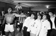Muhammad Ali y los Beatles, 1964. Fotografía: Chris Smith / Getty.