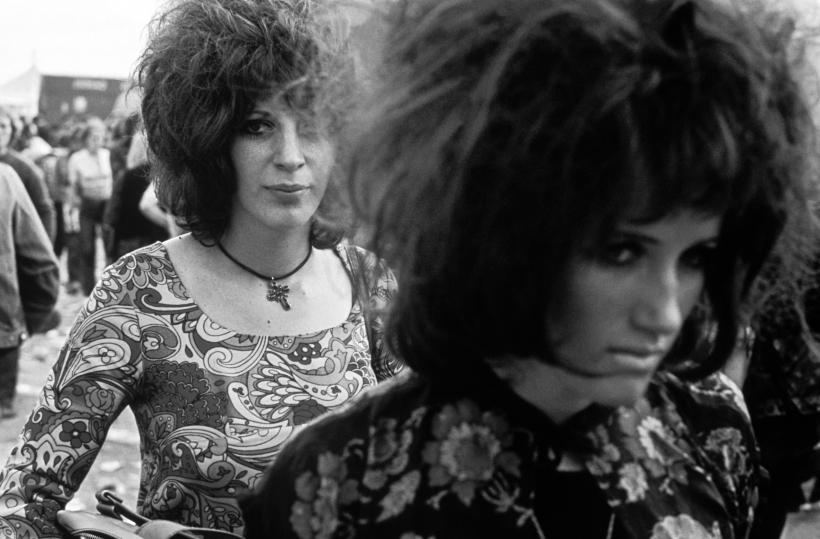 Isle of White Festival, 1969. Fotografía: David Hurn ©.