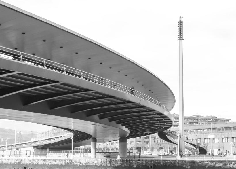 3. Puente de Euskalduna Bilbao 1999