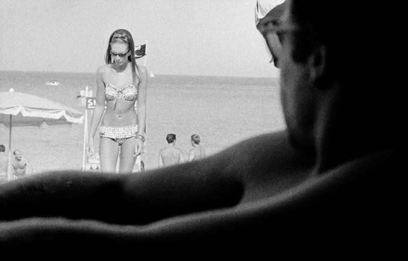 South of France, 1964. Fotografía: David Hurn ©.