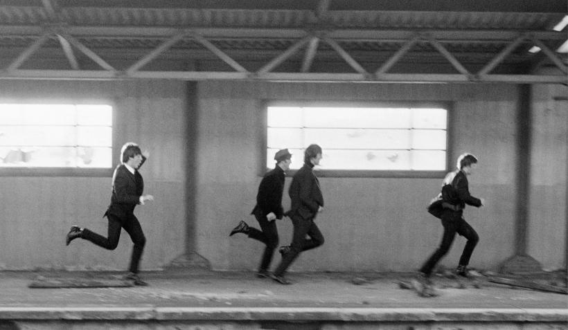 A hard day's night, 1964. Fotografía: David Hurn ©.