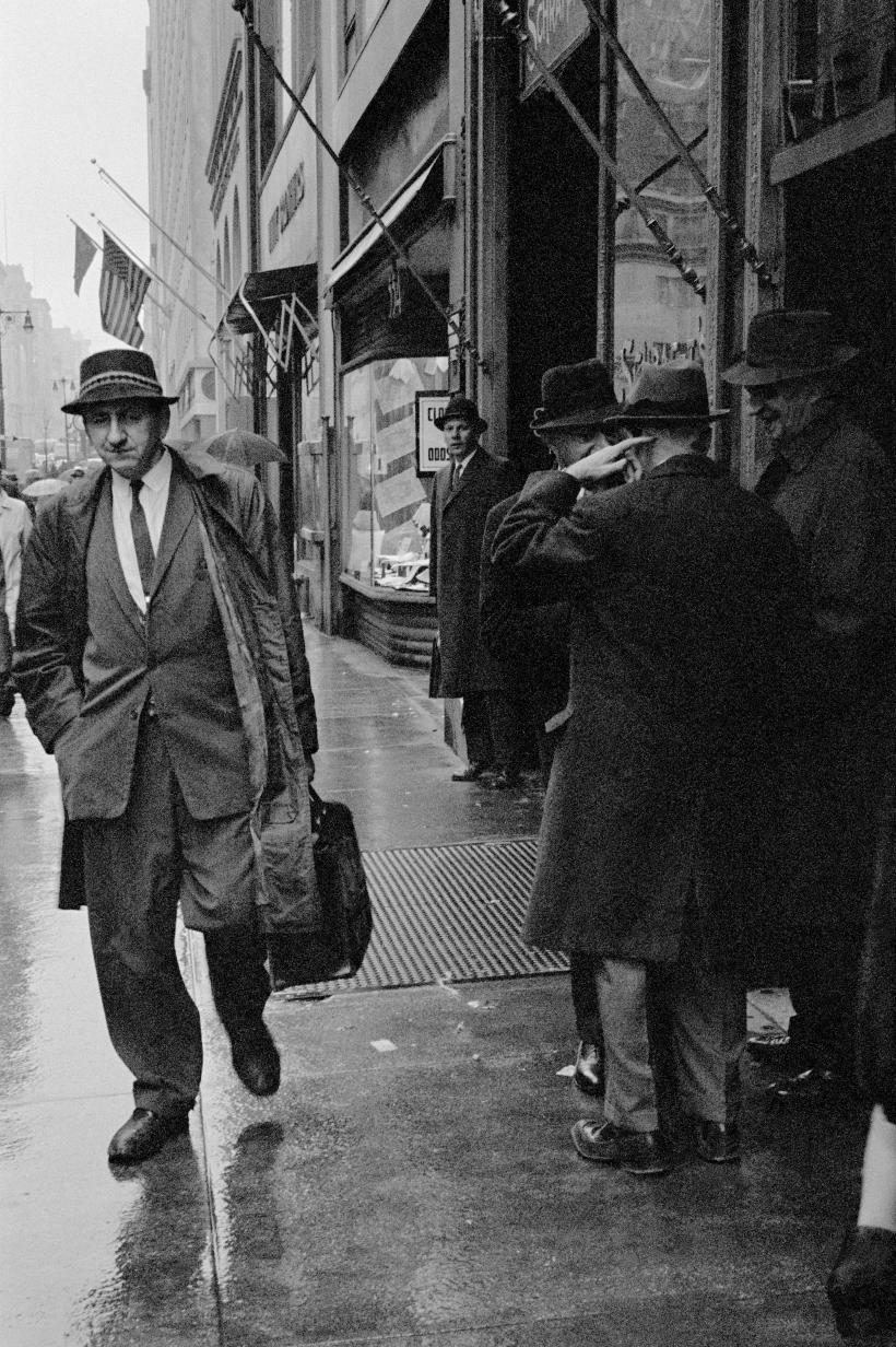 New York City, 1962. Fotografía: David Hurn ©.