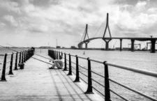 Puente de la Constitución de 1812, Cádiz, 2015. Fotografía: Gogo Lobato / Getty.