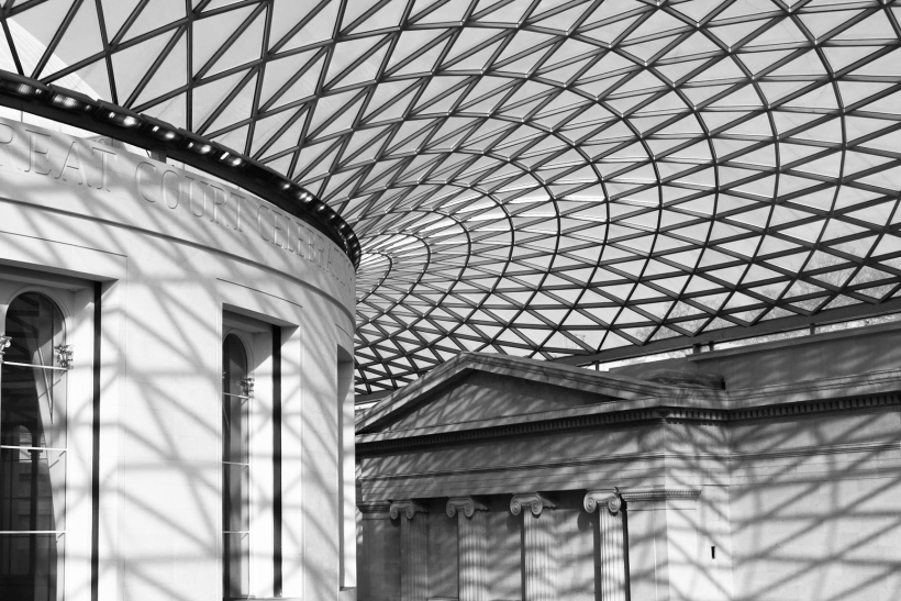 Great Court at the British Museum London Martin CC 4