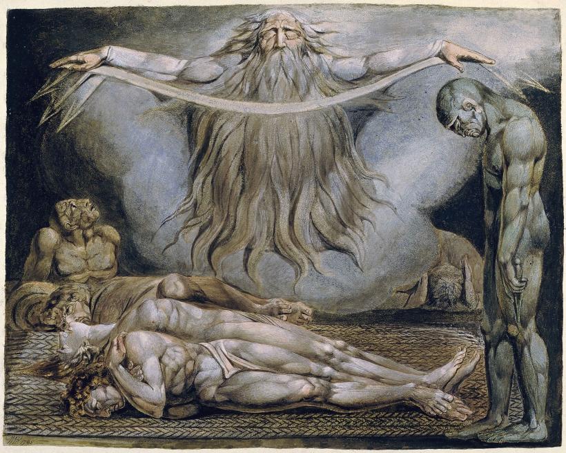 La casa de la muerte William Blake.