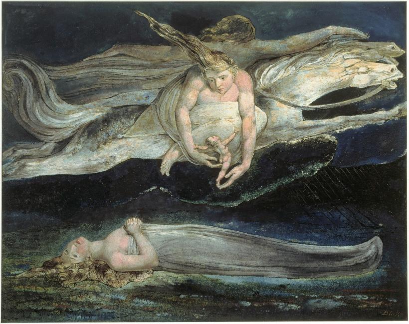 Piedad William Blake.