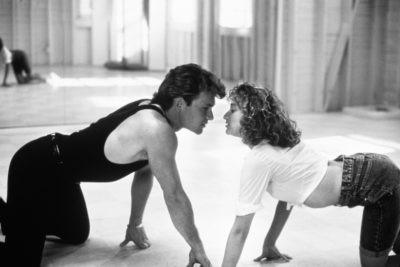 Patrick Swayze y Jennifer Grey en Dirty Dancing, 1987. Fotografía: 20th Century Fox.