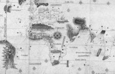 El Planisferio de Cantino, 1502, el primer mapa conocido con la demarcación del Tratado de Tordesillas.