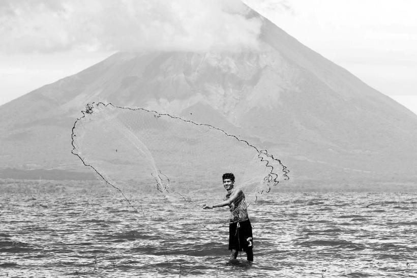 El lago Cocibolca Nicaragua 2014. Fotogarfia Cordon Press