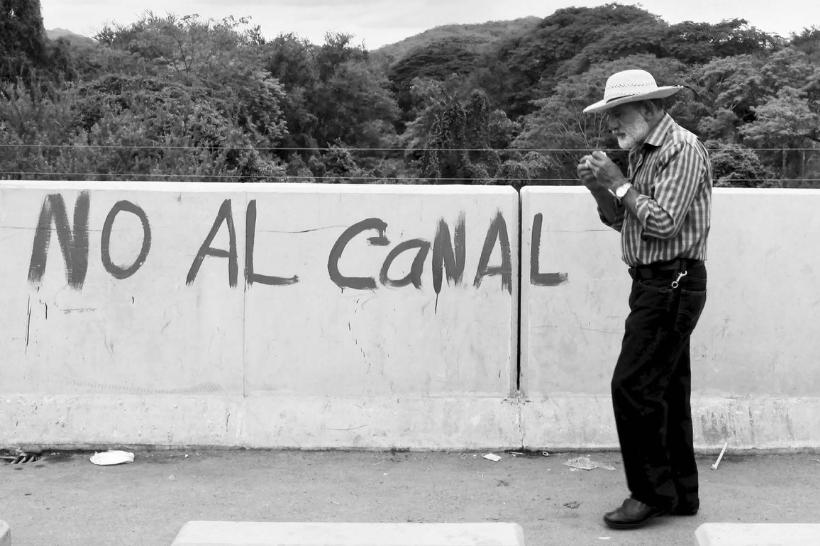Pintada «No al canal» Juigalpa