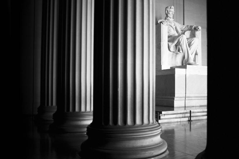 Estatua de Lincoln en el Memorial Washigton