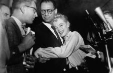 Marinlyn Monroe y Arthur Miller, 1956. Fotografía: Corbis.