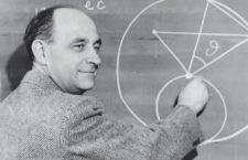 Enrico Fermi. Fotografía: Smithsonian Institution.