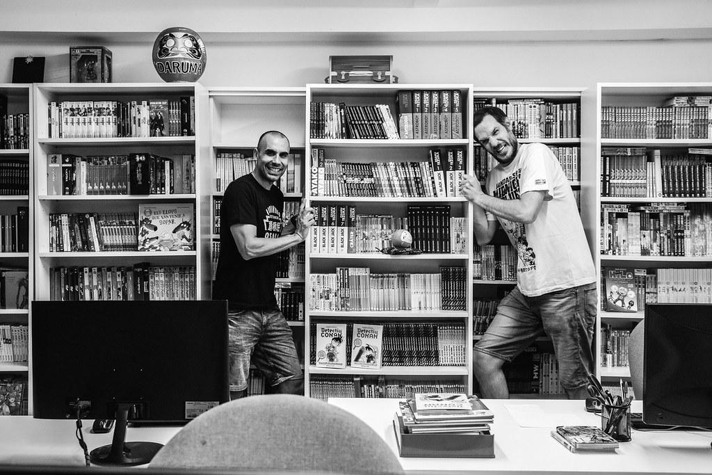 Marc Bernabe y Oriol Estrada para jd 7