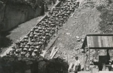 Las escaleras de la muerte Mauthausen.