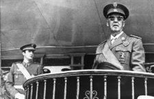 Juan Carlos y Francisco Franco. Foto: Fotocollectie Anefo Reportage (DP)