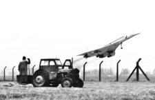 Un avión Concorde, 1971. Fotografía:Cordon Press.