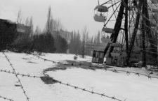 Detalle de portada de Voces de Chernóbil, de