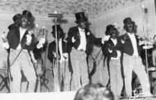 Los Dandys Negros, 1963, original de Enrique Villegas (Cortesía de Archivo Miguel Brun)