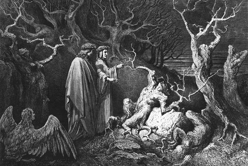 Dante con Virgilio