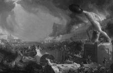 The Course of Empire - Destruction (La vida del Imperio-Destrucción), Thomas Cole, 1836.