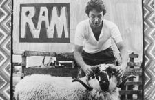 Detalle de portada de Ram, de Paul McCartney. Imagen: EMI.