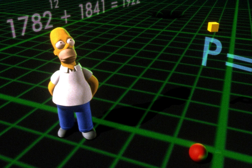 Los Simpson familia amarilla