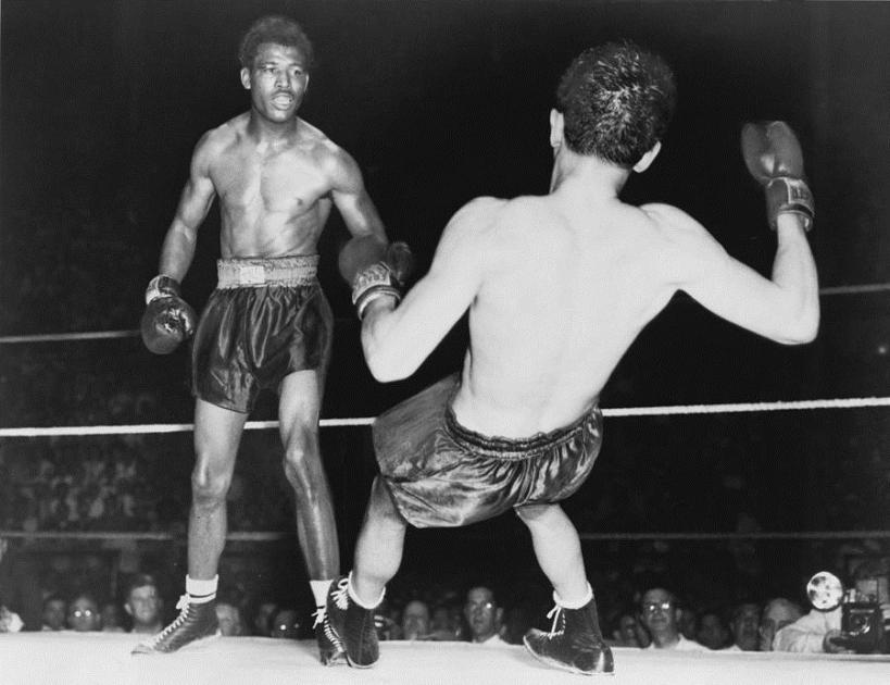 Sugar Ray Robinson vs Jimmy Doyle