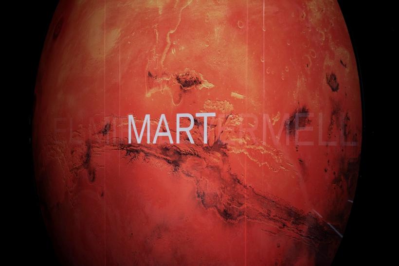 Exposición Marte. El espejo rojo, en CCCB. Foto: Aleix Plademunt.