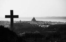 La ciudadela y la iglesia de San Juan Bautista en Xewkija, Gozo, Malta, 2015. Fotografía: Cordon Press.