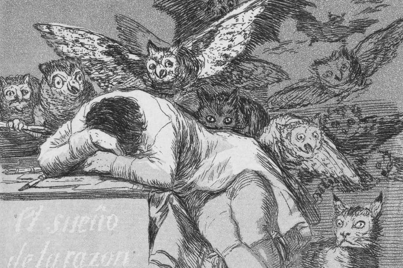 el sueño de la razón adjetivos malos