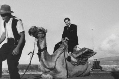 Ignacio Aldecoa ca. 1960. Fotografía: Volcano Films.