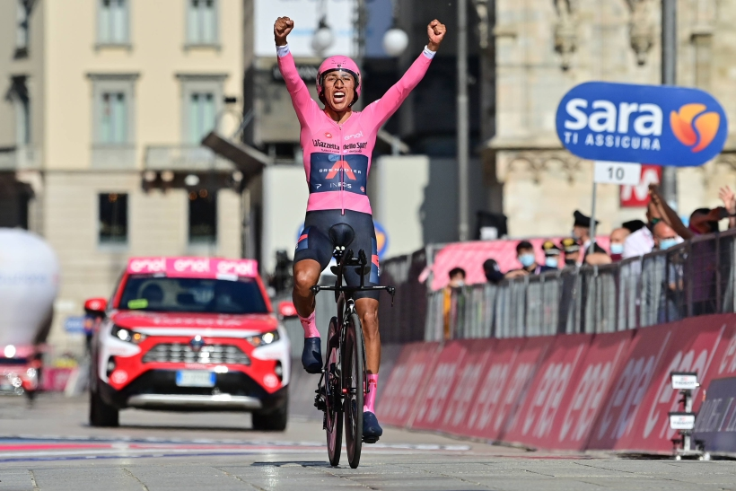 Egan Bernal ganador del Giro de Italia 2021