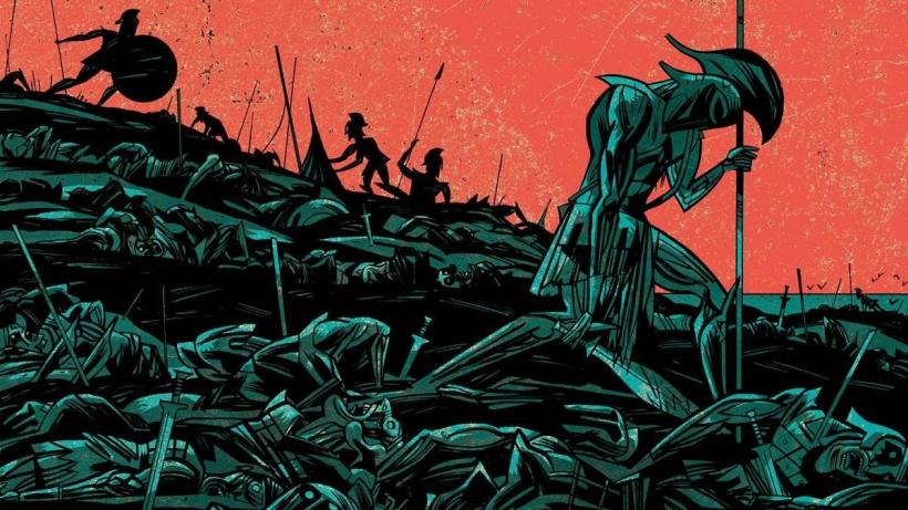 Imagen del cómic La cólera