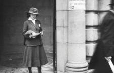 Londres, 1917. Fotografía: Getty.