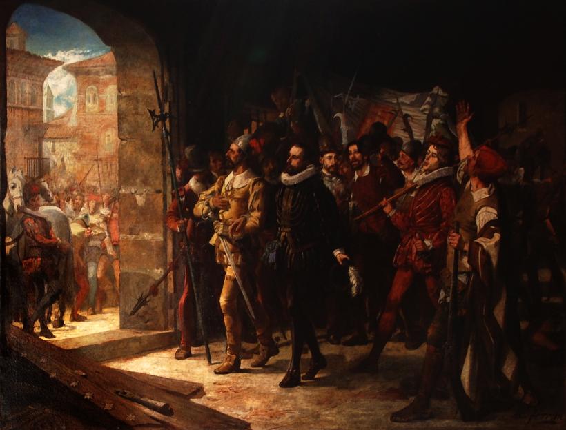 Antonio Perez liberado por el pueblo aragones en 1591 Manuel Ferran Bayona 5755