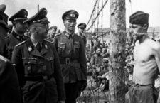 Horace Greasley al paso de Himmler - c. 1940