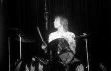 Charlie Watts durante un concierto de los Rolling Stones en 1970. Foto Cordon Press.